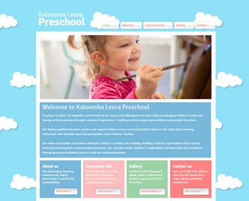 Katoomba Leura Preschool home page
