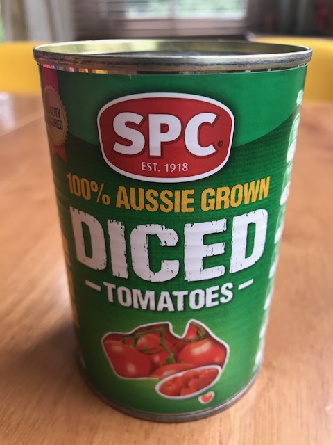 SPC diced canned tomatoes
