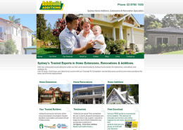 Addbuild's new website - designed by Stralia Web