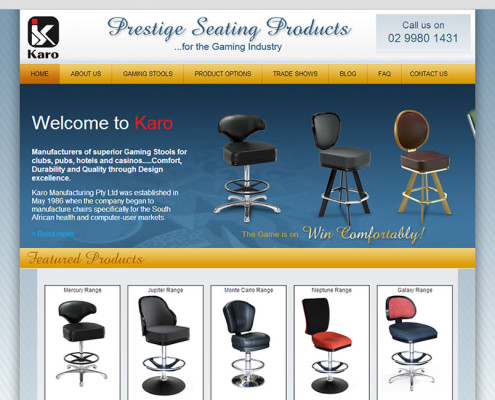 Karo home page