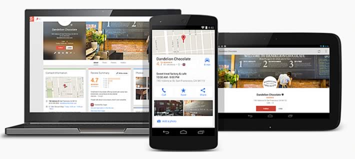 Google Plus Business Listings