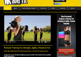 Ape Fit Perth - Personal Training website