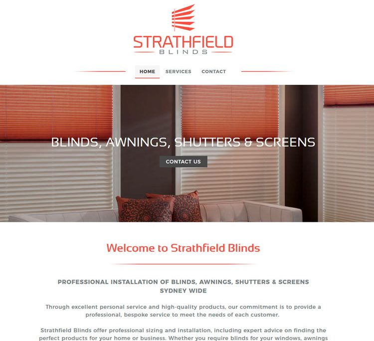 strathfield blinds website