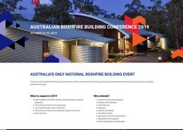 Bushfire Conference website