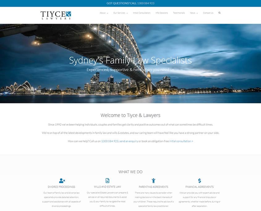 tiyce family lawyers Sydney